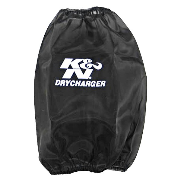 K&N RF-1041DK - Drycharger Round Tapered Black Pre-Filter
