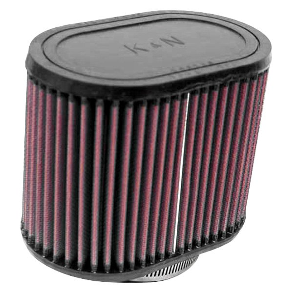 K/&N Clamp-On Oval Straight Air Filter RA-0770