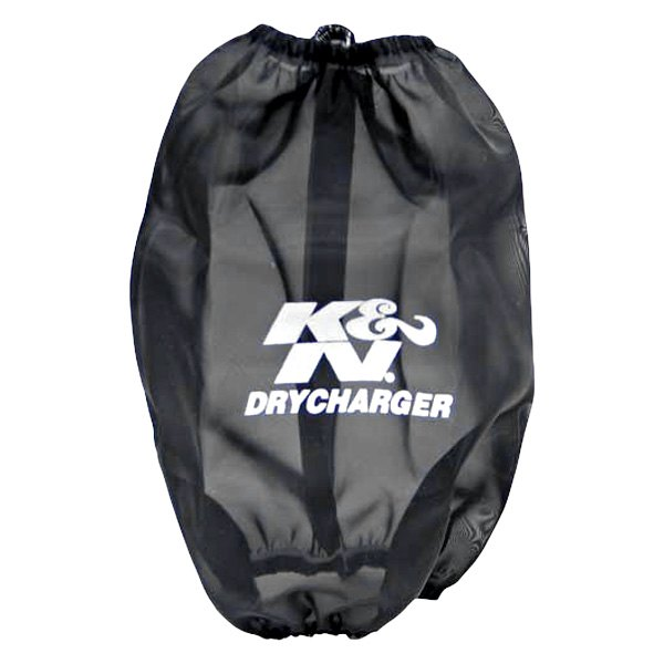 K&N RF-1045DK - Drycharger Round Tapered Black Pre-Filter