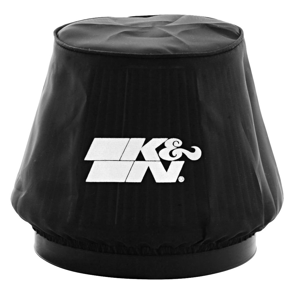 K&N 22-8049DK - Drycharger Round Tapered Black Pre-Filter