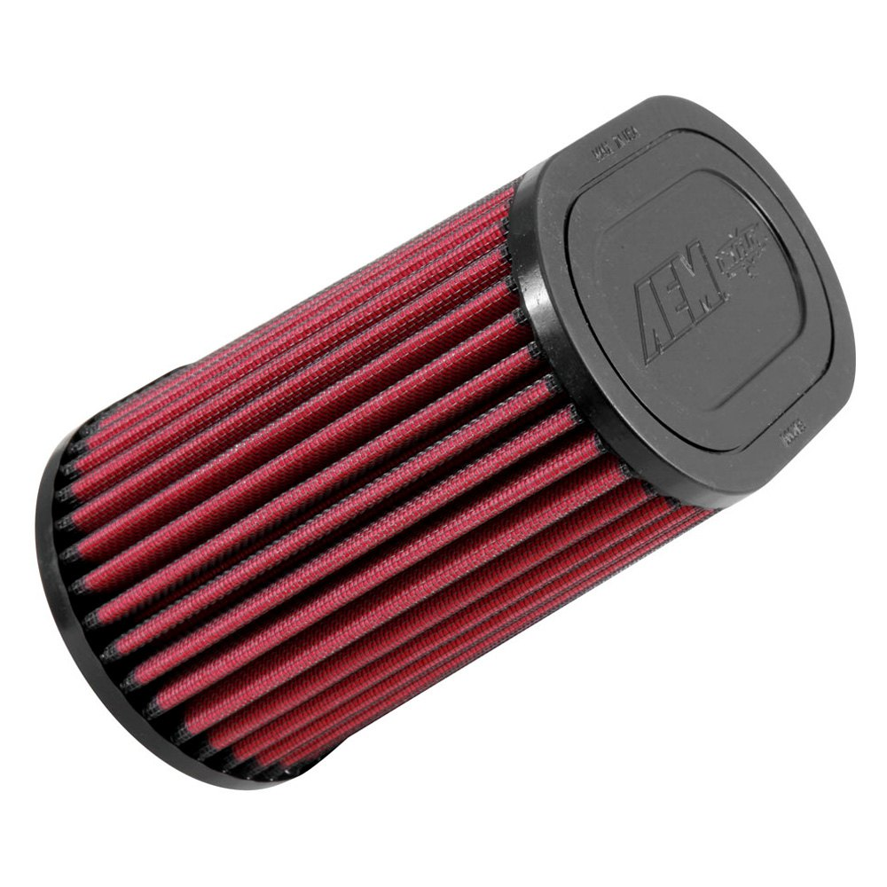 AEM - DryFlow Oval Tapered Red Air Filter