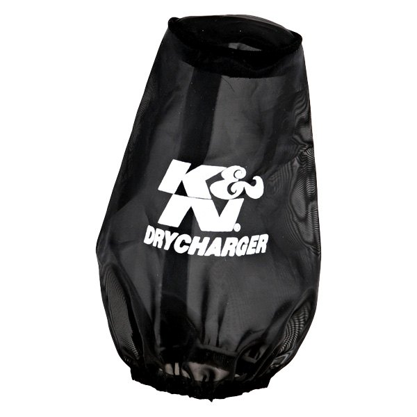 K&N 22-8030DK - Drycharger Round Tapered Black Pre-Filter