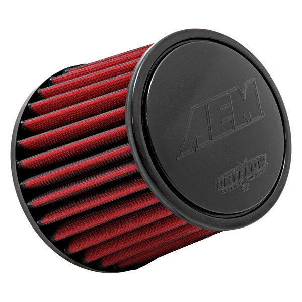 AEM - DryFlow Round Tapered Red Air Filter