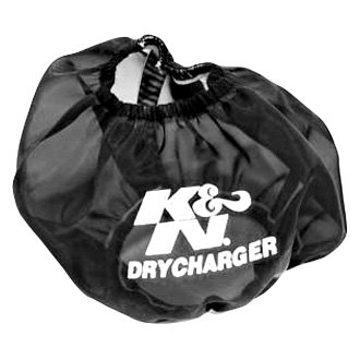 K&N RF-1009DK - Drycharger Round Tapered Black Pre-Filter