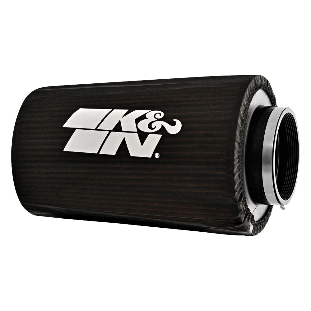 K&N RC-5166DK - Drycharger Round Tapered Black Pre-Filter