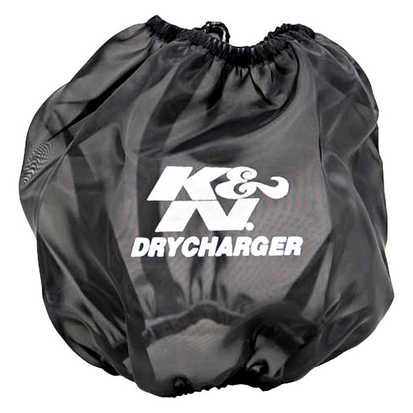 K&N RF-1042DK - Drycharger Round Tapered Black Pre-Filter